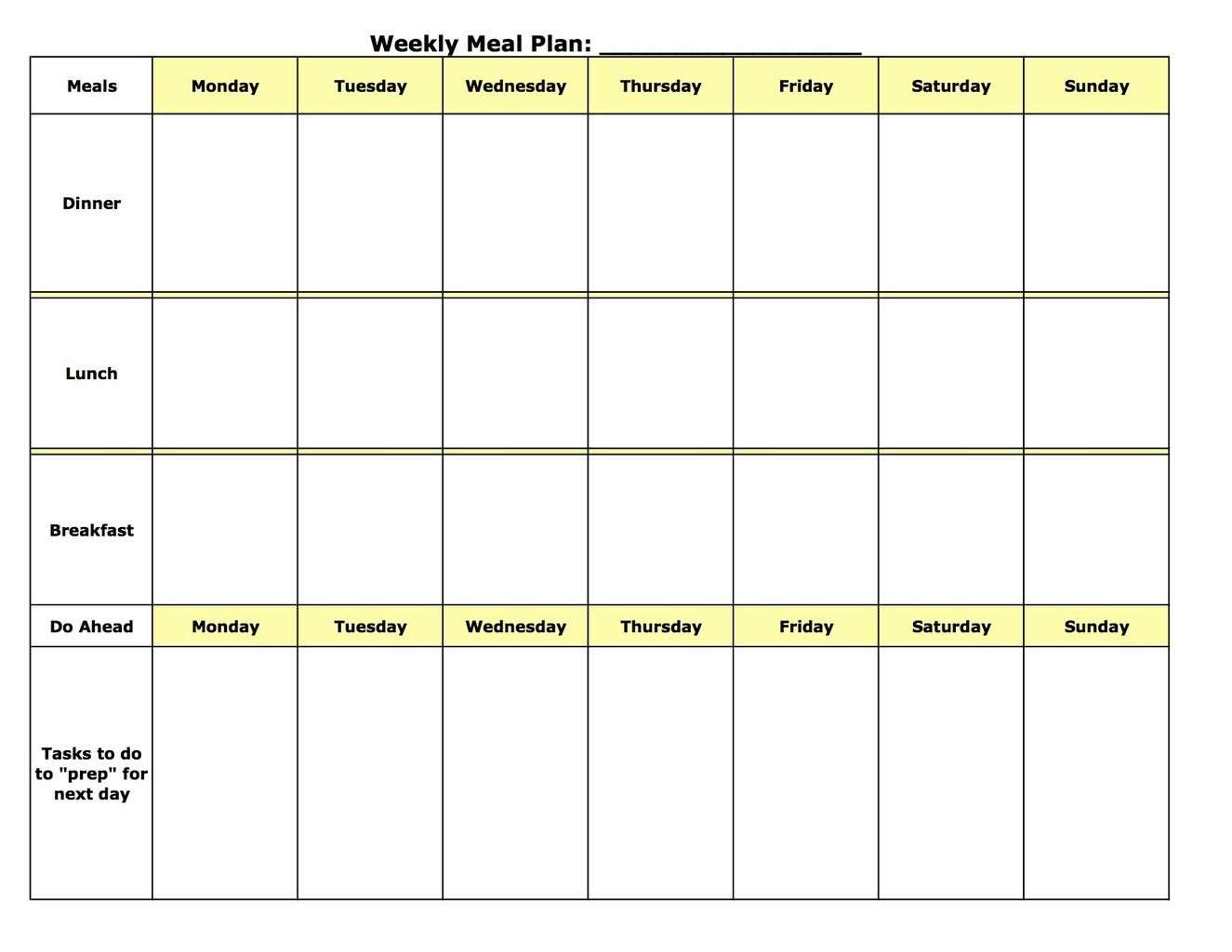 Fast Metabolismt Meal Plan Spreadsheet Pertaining To