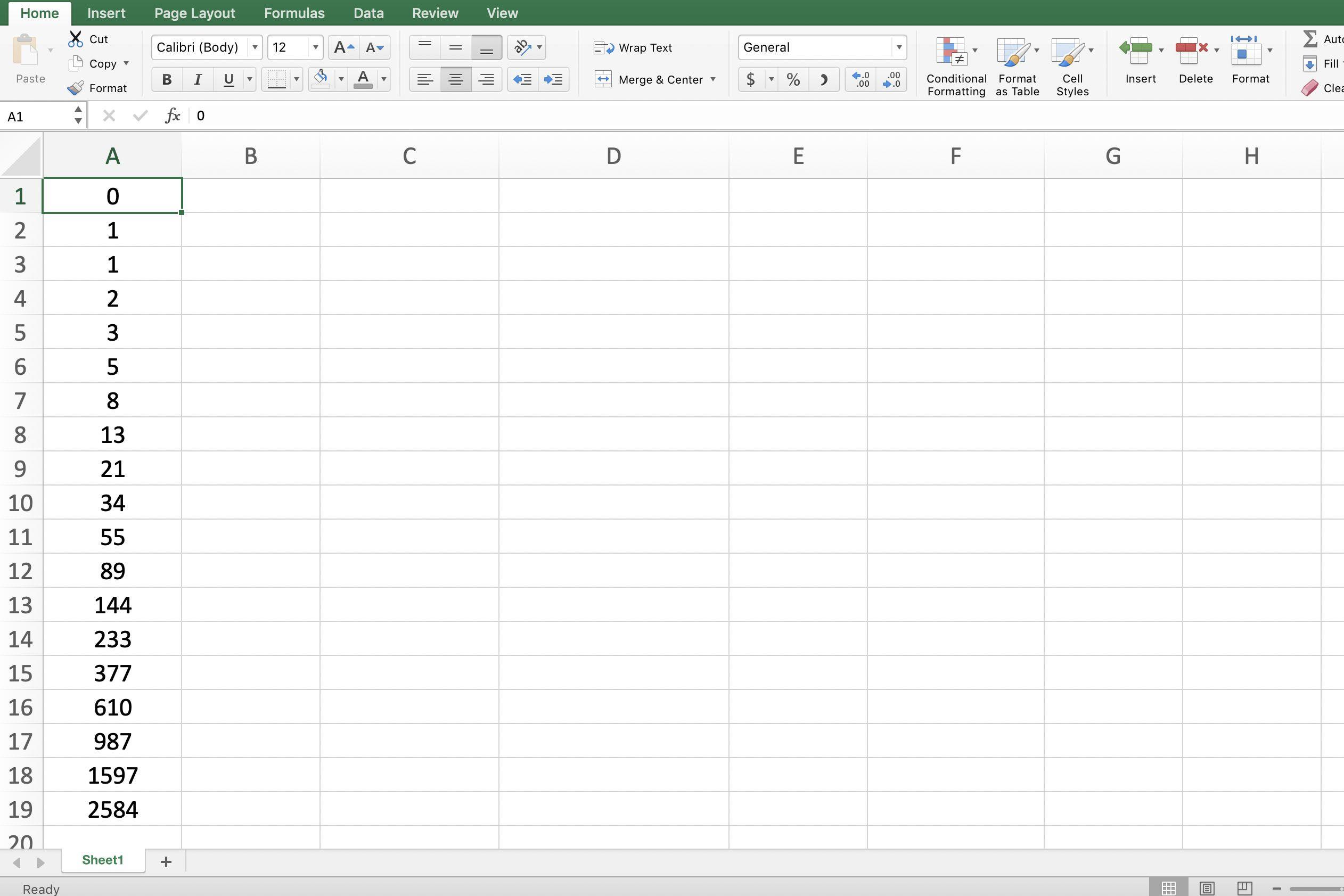 Fibonacci Calculator Spreadsheet Throughout How To Add