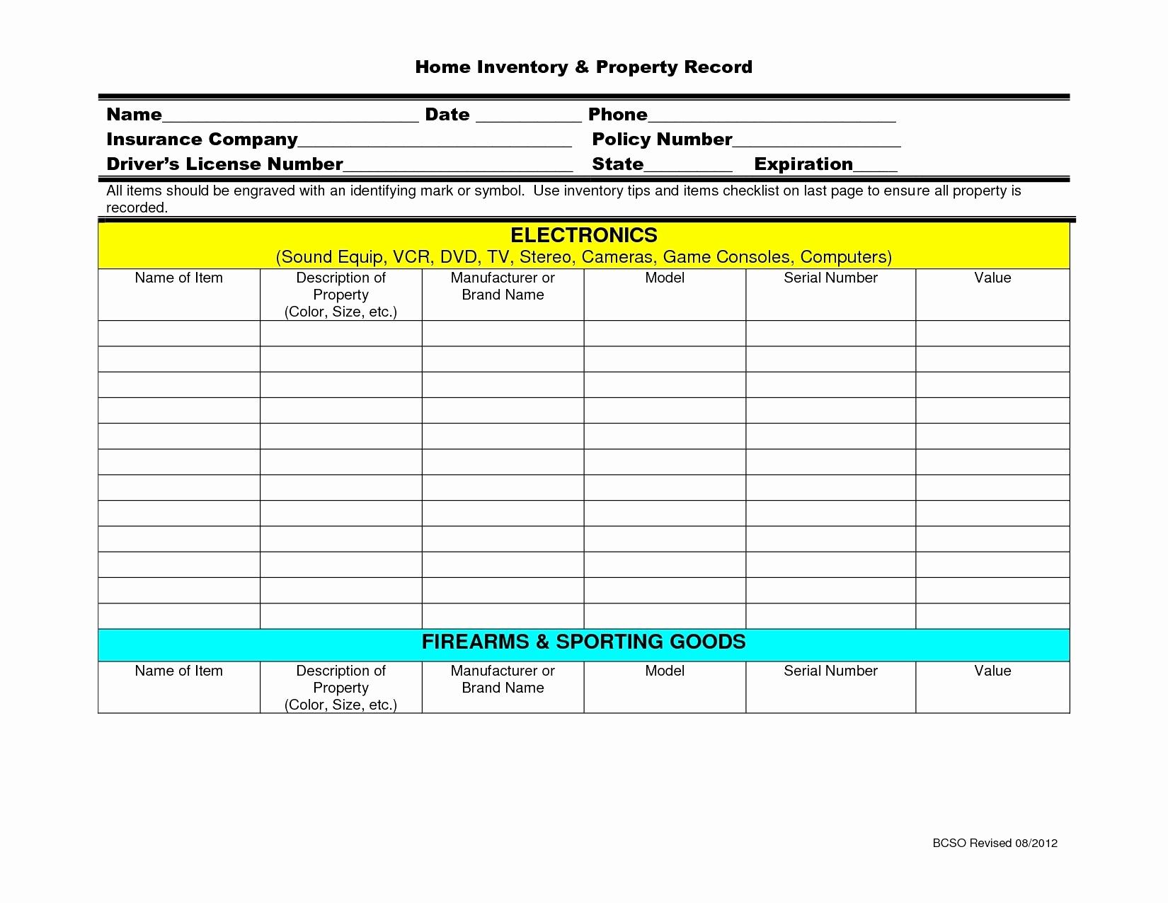 Firearms Inventory Spreadsheet With Gun Inventory Spreadsheet Jewelry Pywrapper Firearms