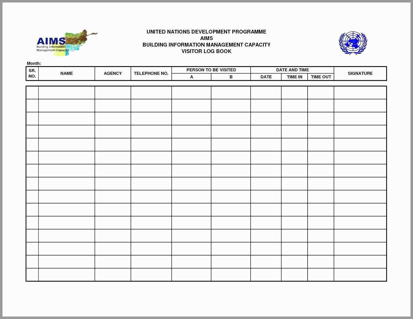 Fleet Maintenance Spreadsheet Template For 72