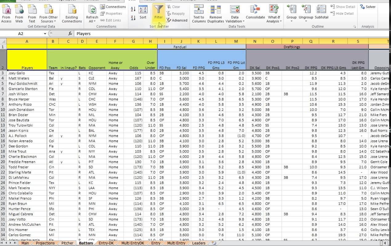 Tracker Baseball Stat App