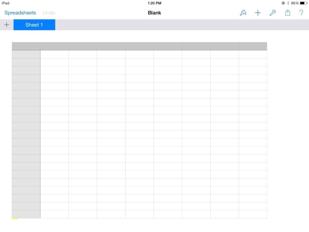 Free Blank Spreadsheets With Blank Spread Sheet
