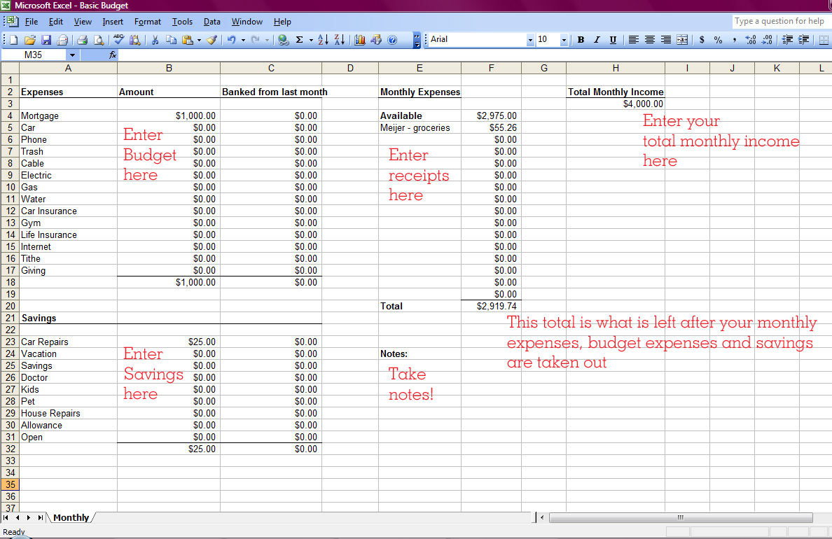 Free Church Contribution Spreadsheet Db Excel