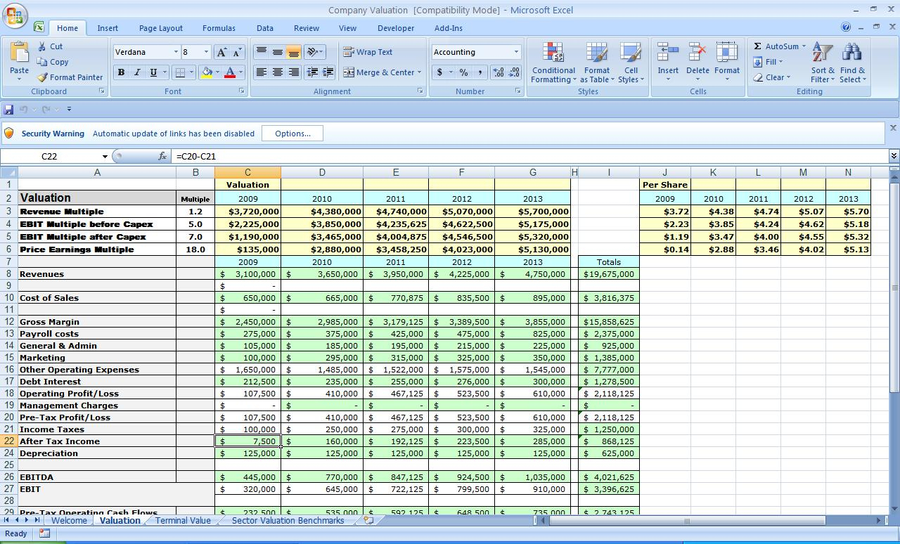 Free Microsoft Excel Spreadsheet Templates For Microsoft