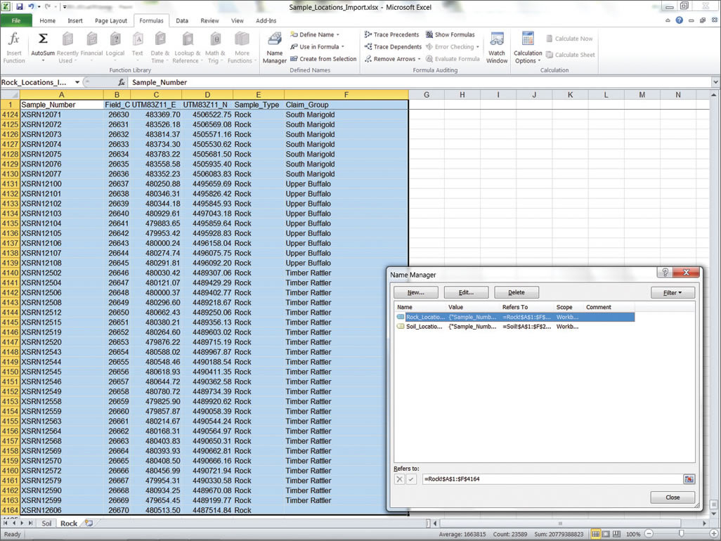 How To Create An Excel Spreadsheet For Importing Data From