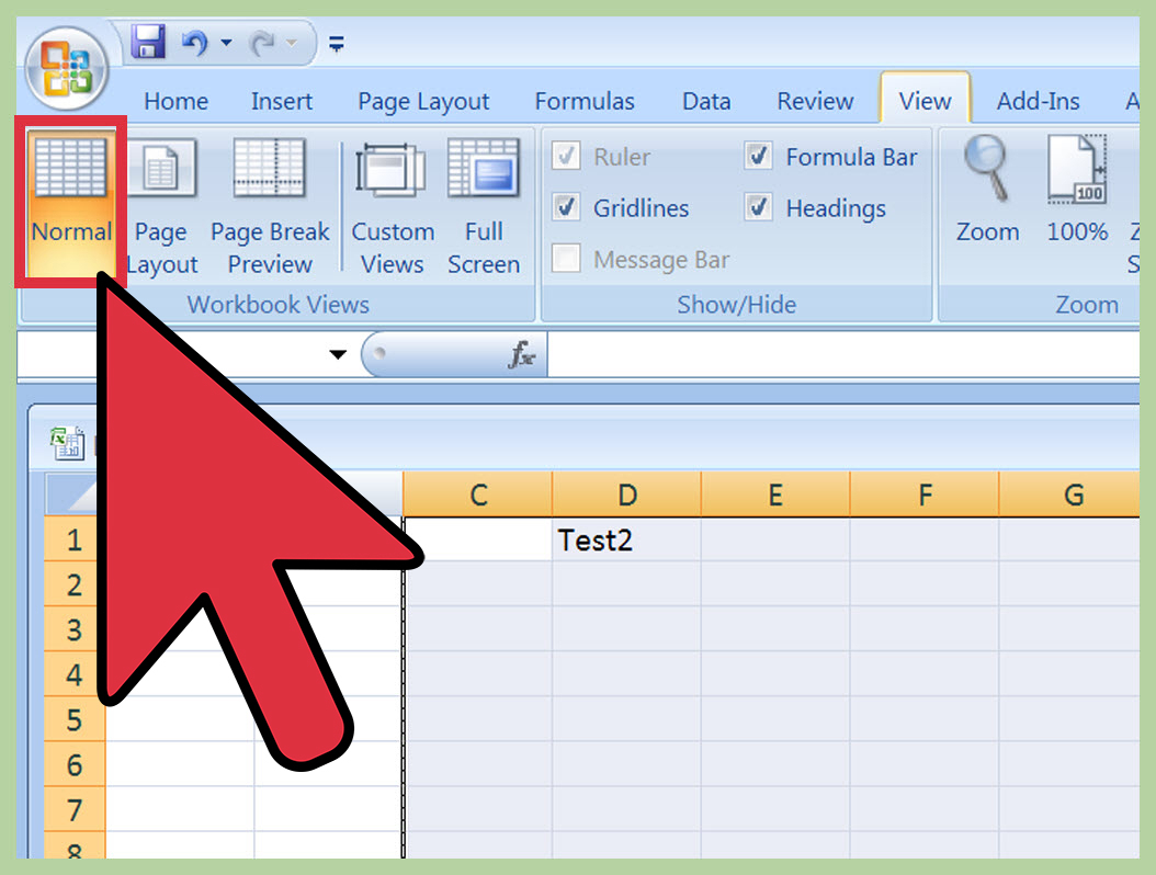 How To Create An Excel Spreadsheet Regarding How To Insert A Page Break In An Excel Worksheet