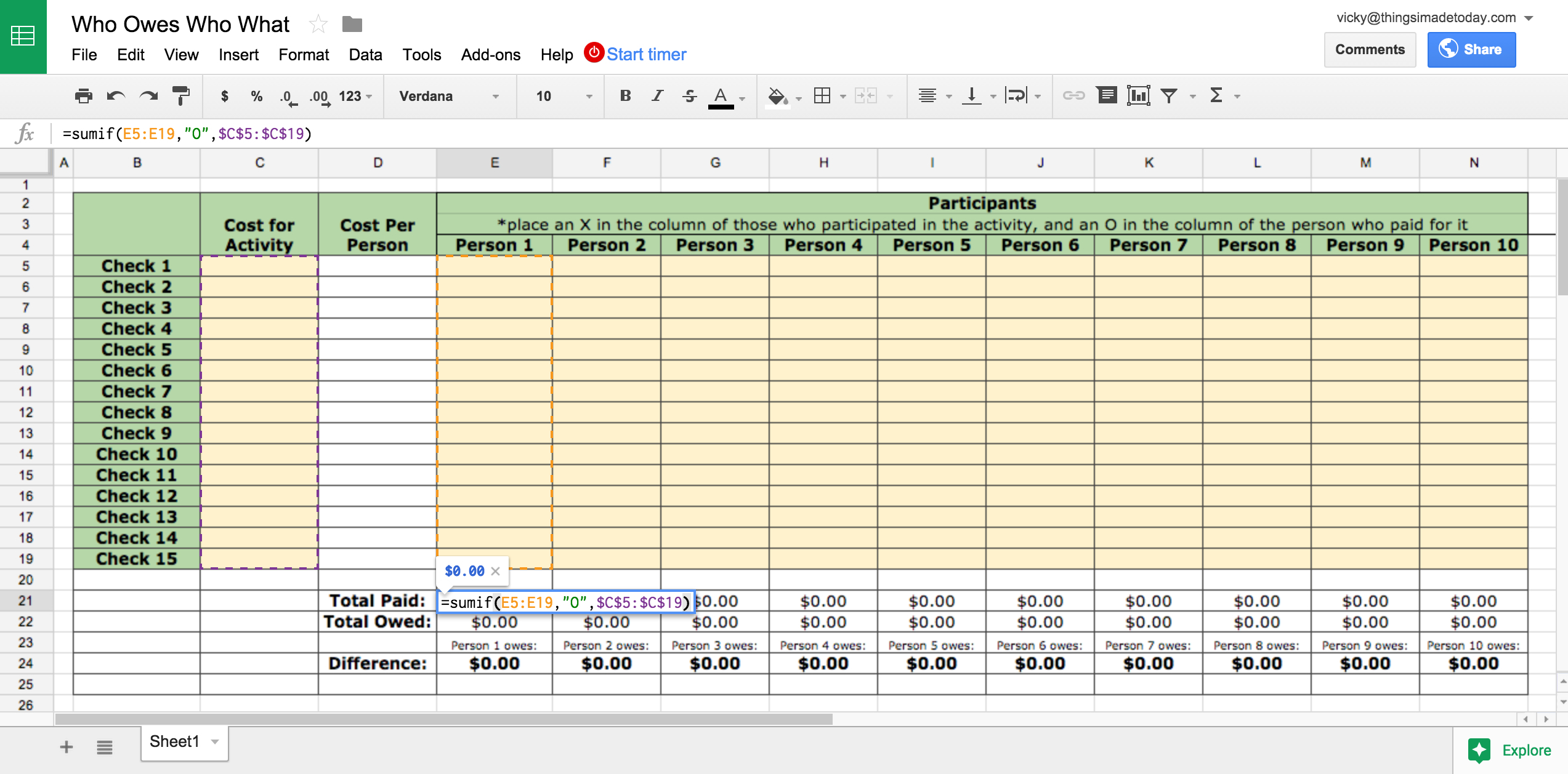 How To Create An Inventory Spreadsheet On Docs Db