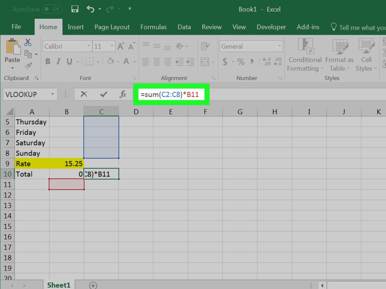 How To Do Spreadsheet Formulas Inside 4 Ways To Calculate