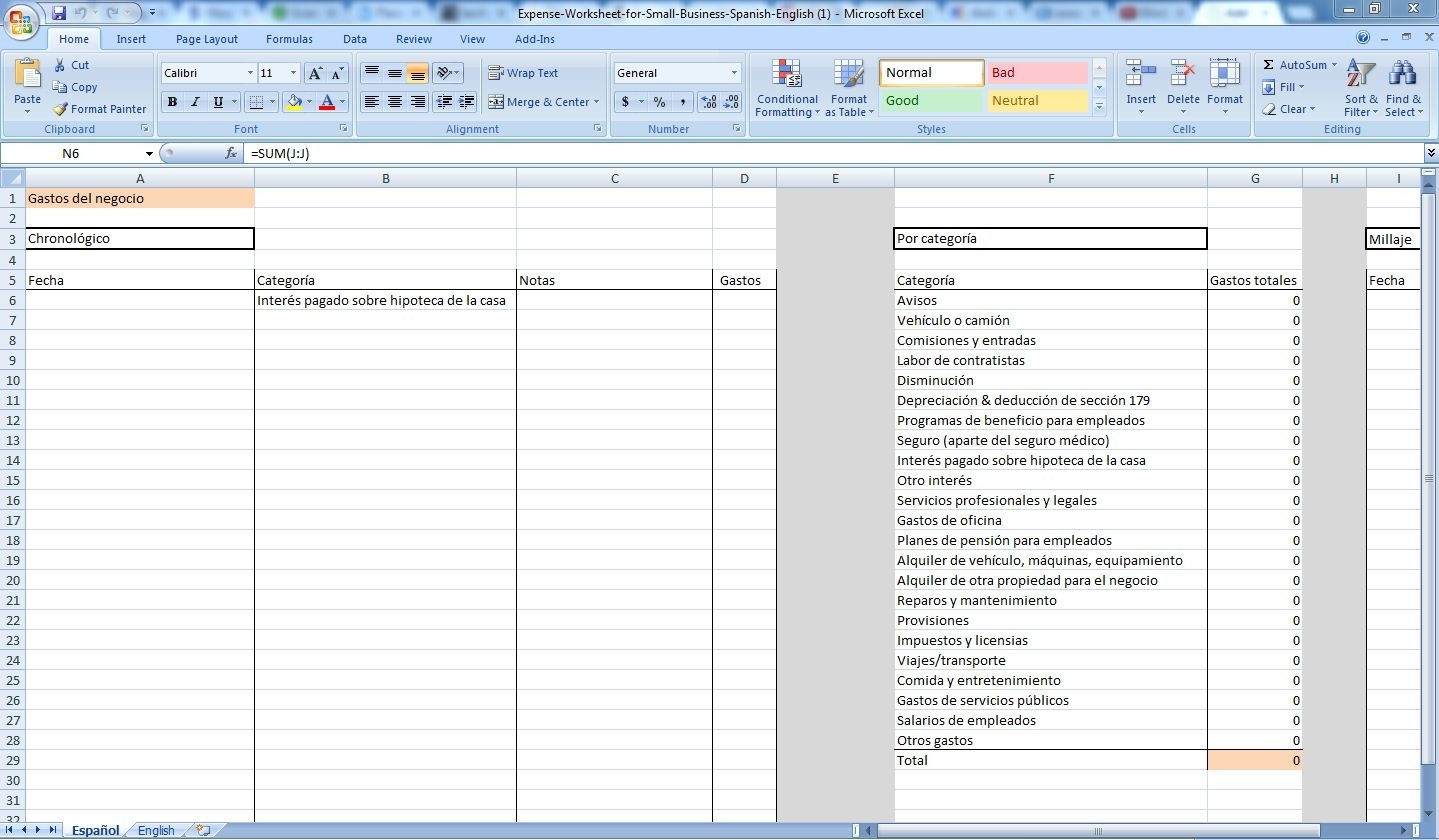 How To Keep A Spreadsheet Of Expenses Db Excel