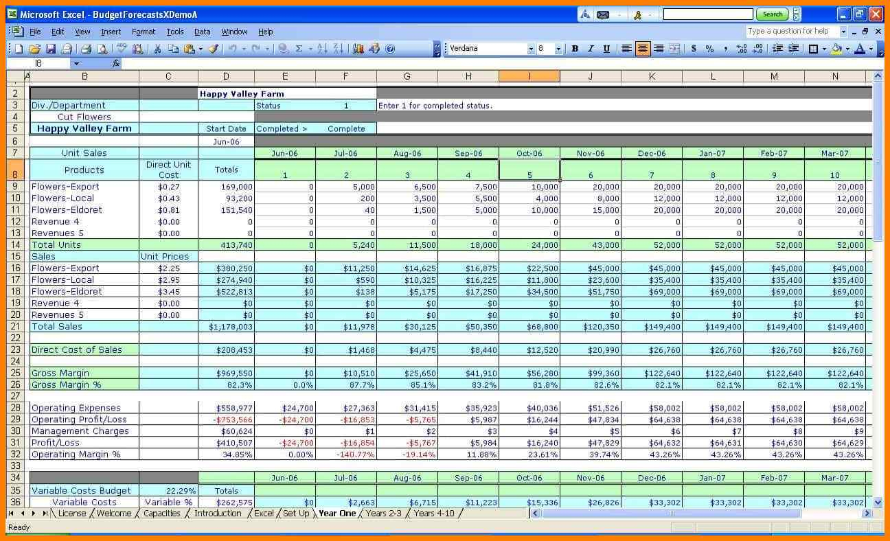 How To Set Up An Excel Spreadsheet For Accounts With