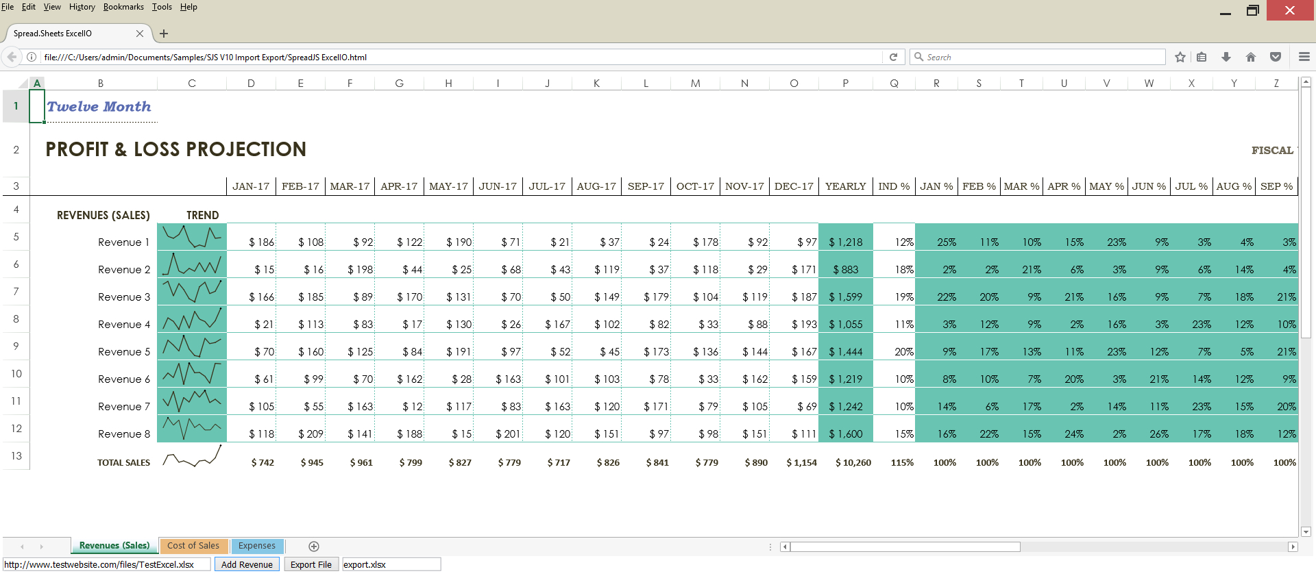 Html Spreadsheet Regarding Html Spreadsheet Example Best