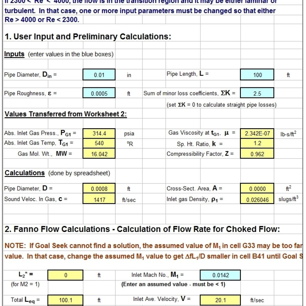 Hvac Load Calculation Worksheet
