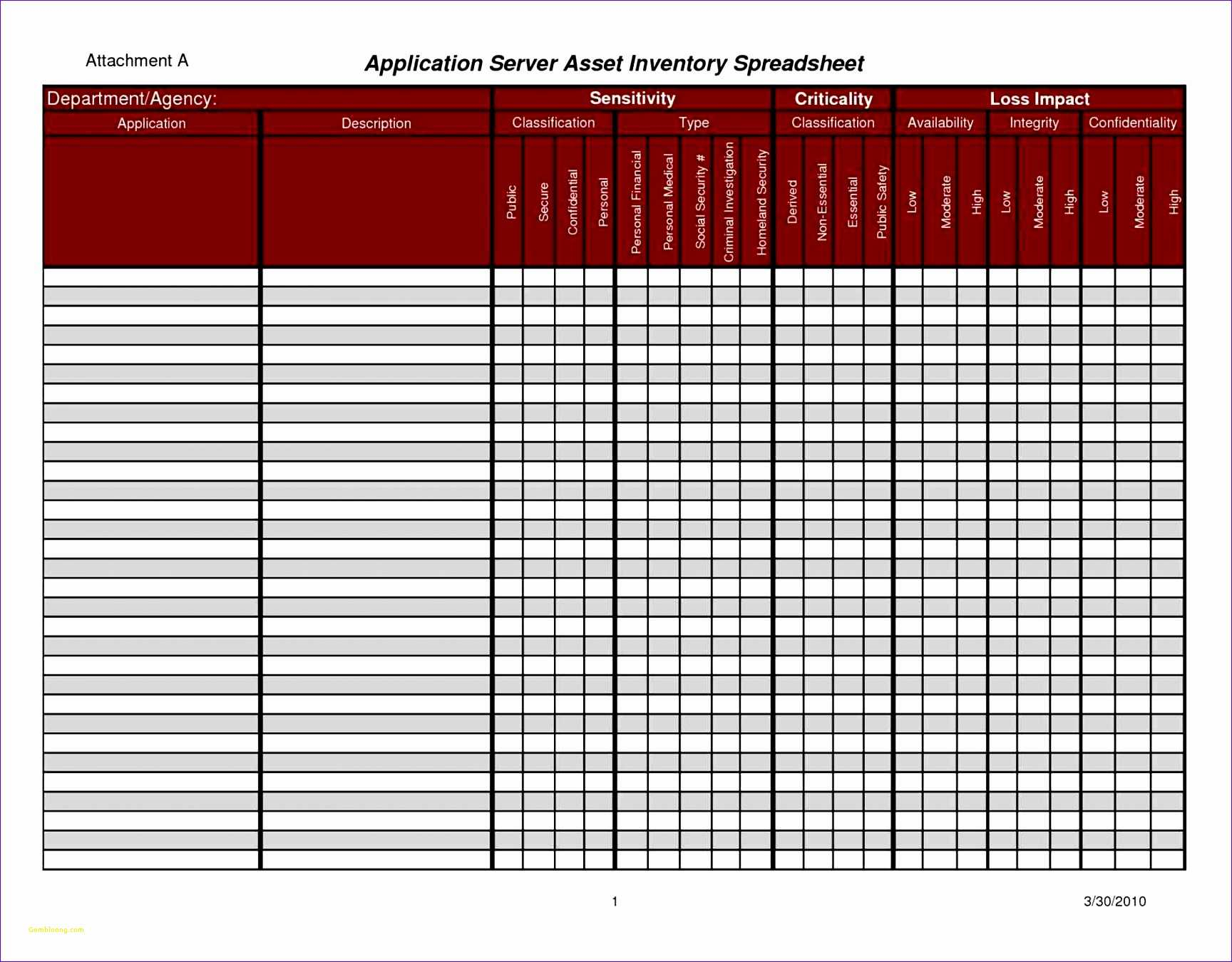 Spreadsheet Template Page 4 Residential Load Calculation Spreadsheet Inventory Control
