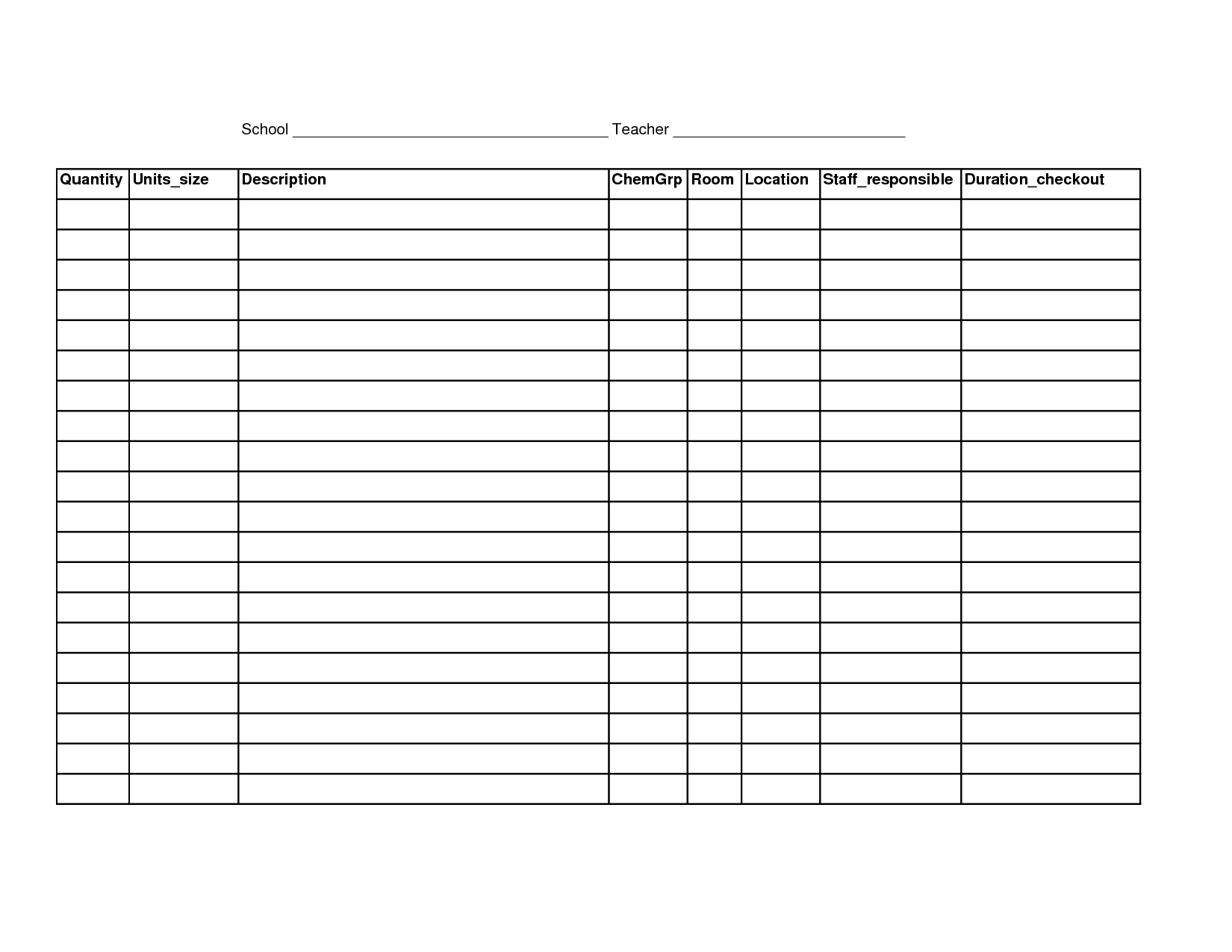 Inventory Ordering Spreadsheet Spreadshee Inventory