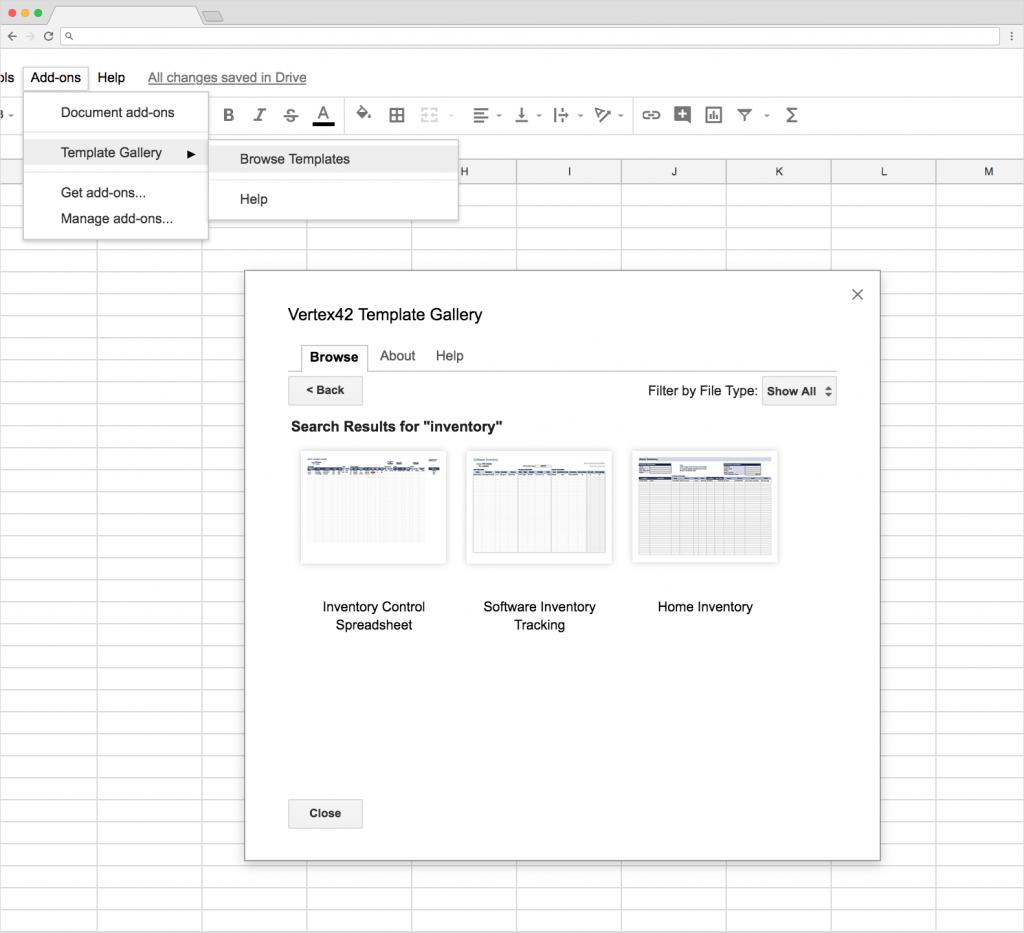 Inventory Spreadsheet Db Excel