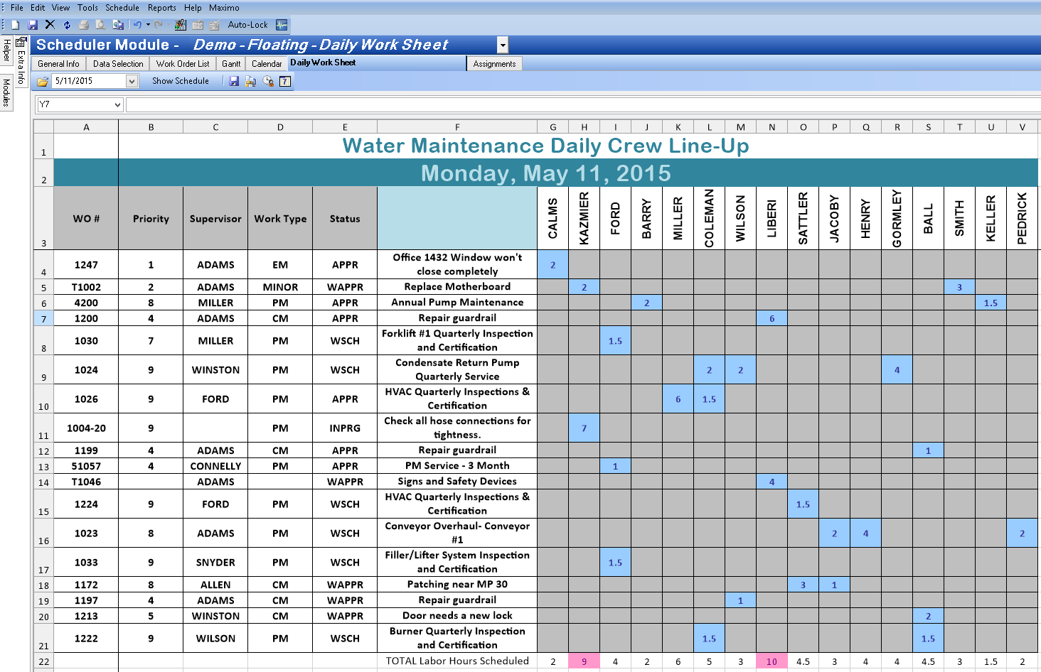 Irrigation Schedule Spreadsheet Spreadshee