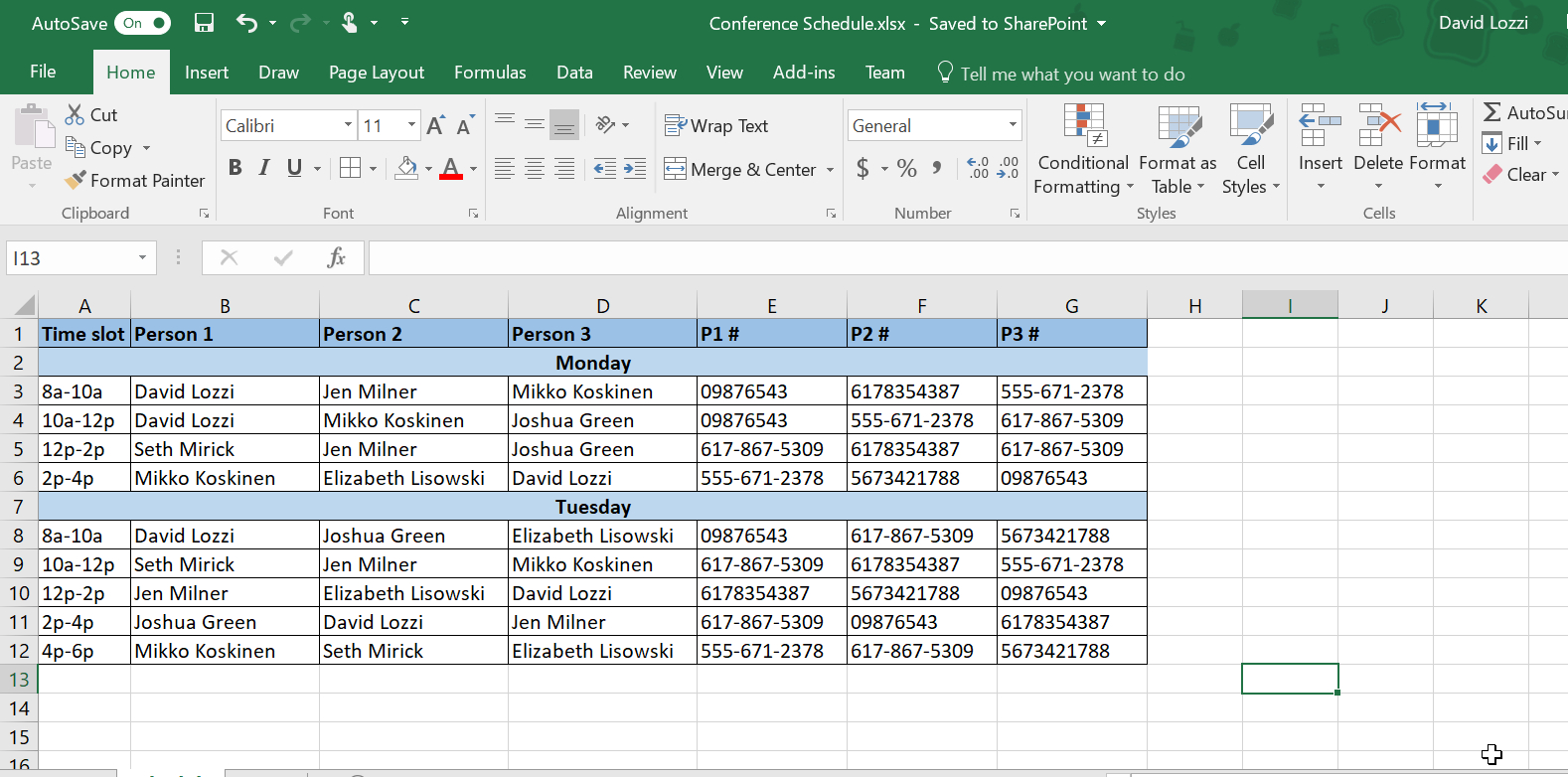 Linking Excel Spreadsheets In Sharepoint