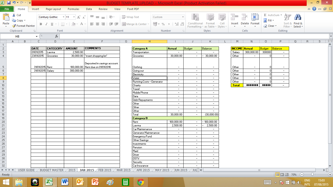 Medical Practice Budget Spreadsheet In Budget Sisi On A