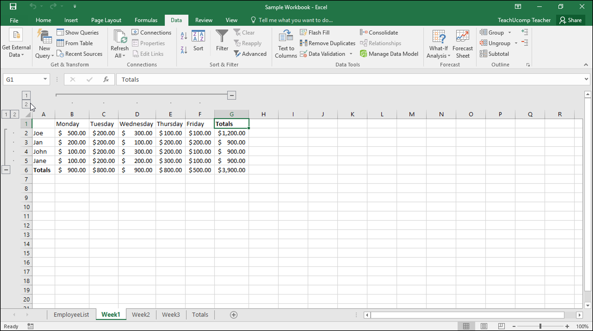 Microsoft Excel Spreadsheet Instructions Throughout