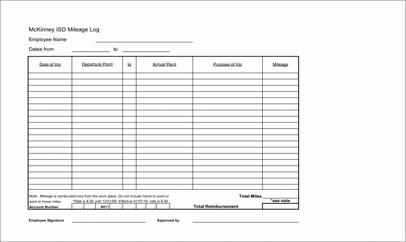 Mileage Spreadsheet Template Inside Mileage Spreadsheet