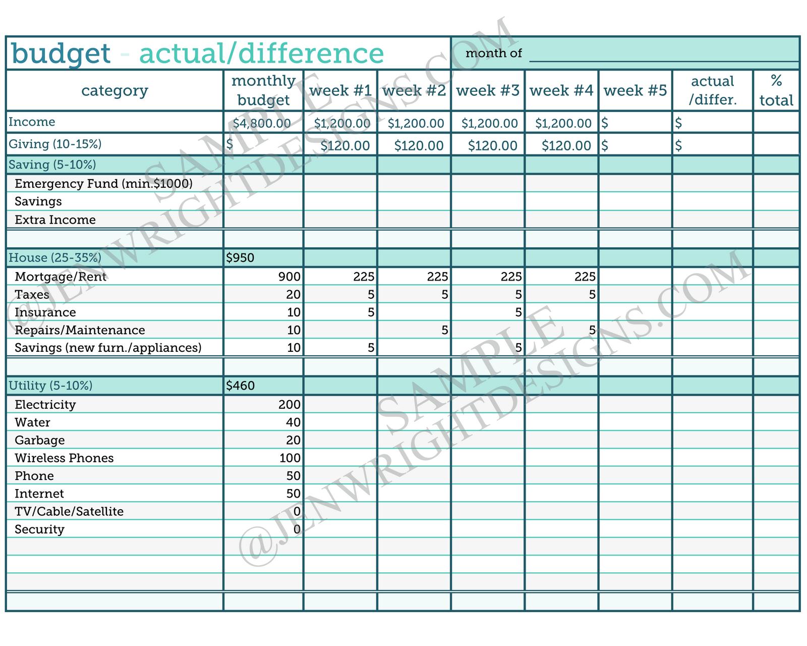 Nursing Home Budget Spreadsheet Db Excel