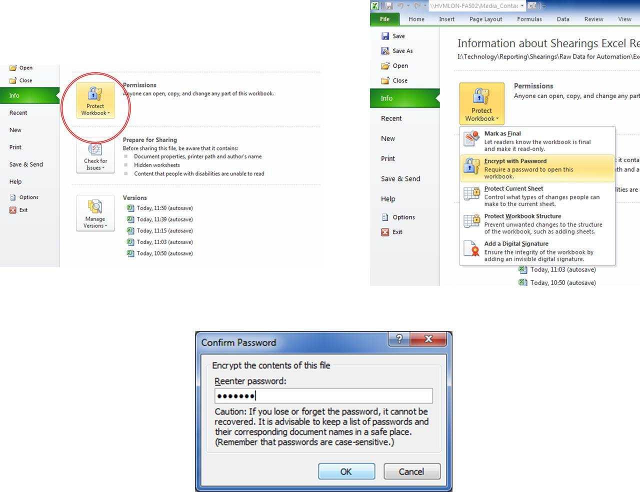 Password Protect Spreadsheet Inside How To Password