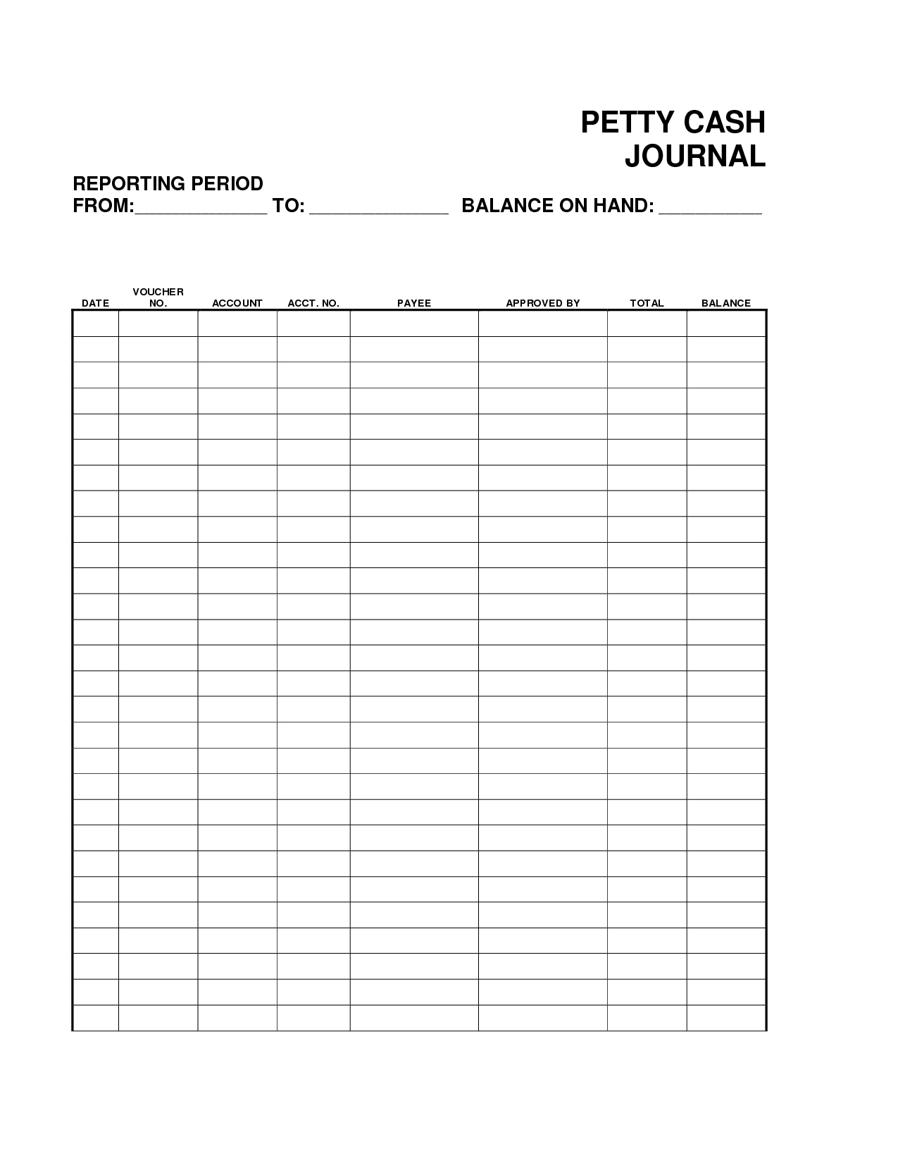 Petty Cash Spreadsheet Example Pertaining To Petty Cash