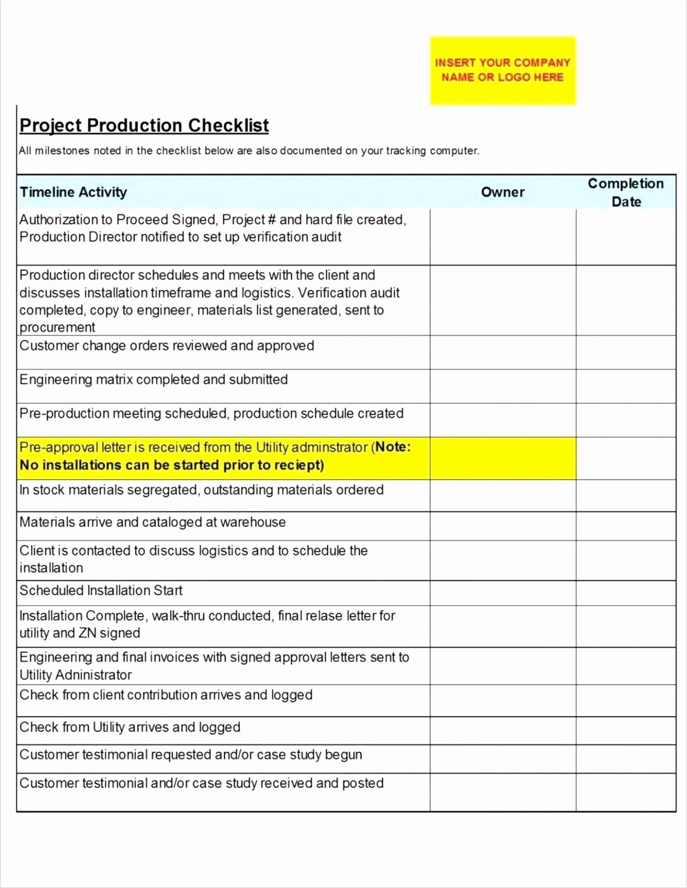 Production Downtime Spreadsheet Spreadshee