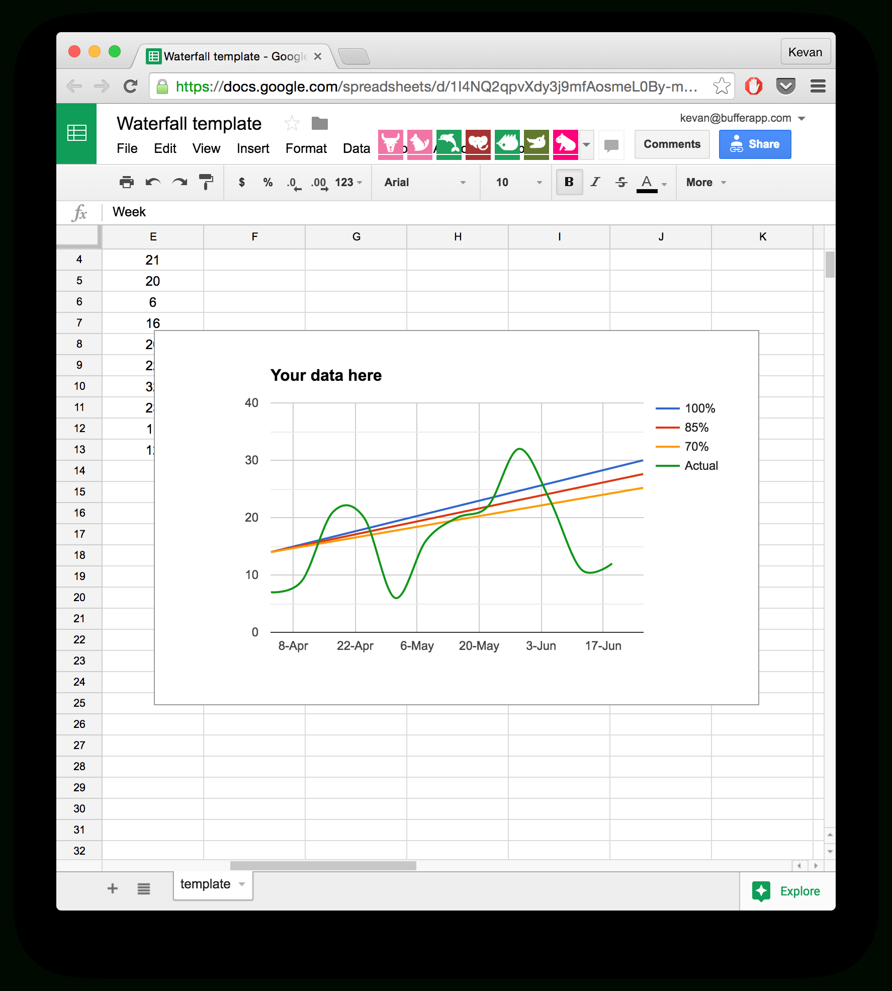 Productivity Spreadsheet Throughout 10 Readytogo Marketing