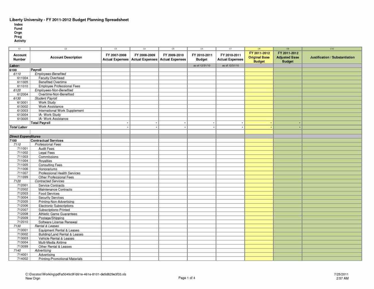 Rental Comparison Spreadsheet Spreadshee Rental