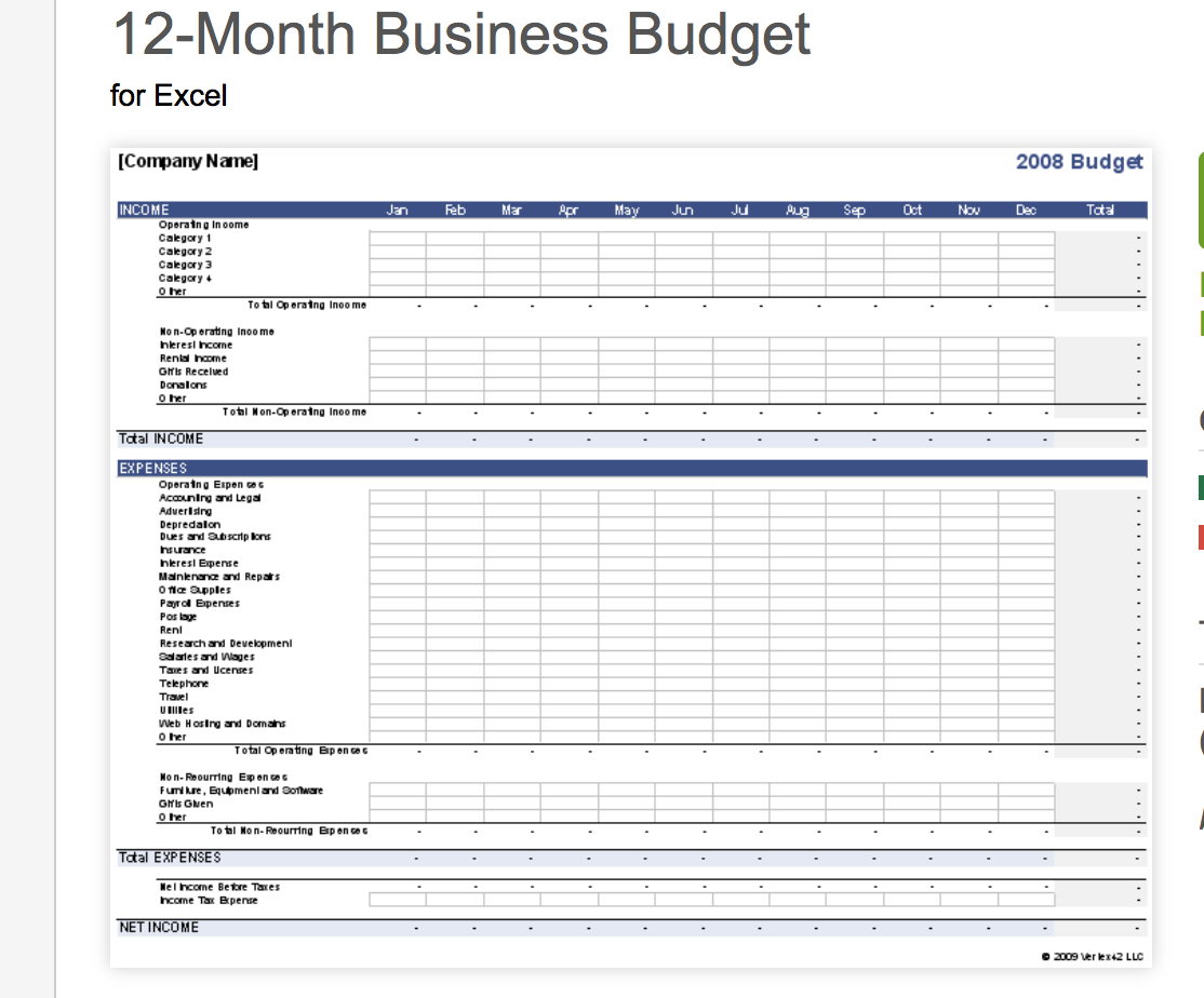 Retail Store Cash Flow Spreadsheet Db Excel