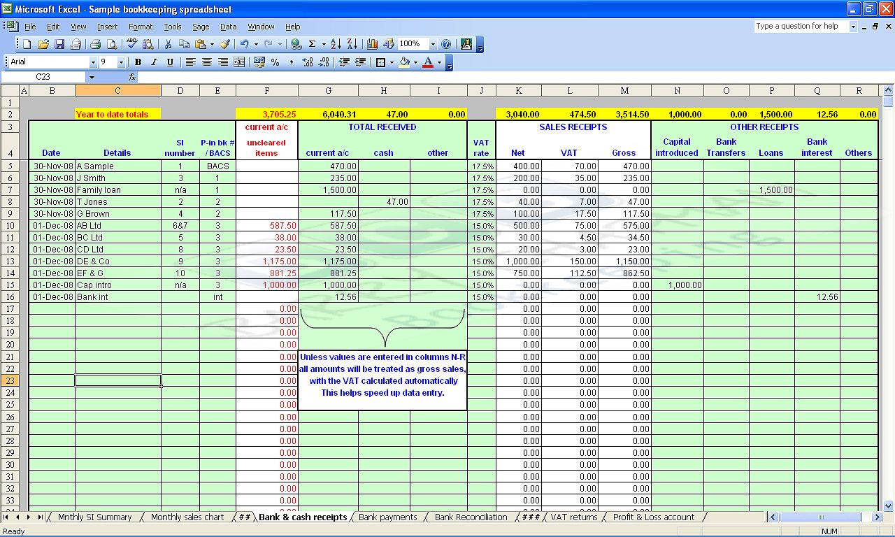 Revenue Recognition Spreadsheet Template Within Example Of