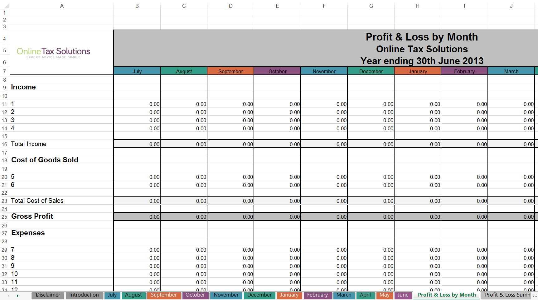 Self Employed Expense Spreadsheet Spreadsheet Downloa Self