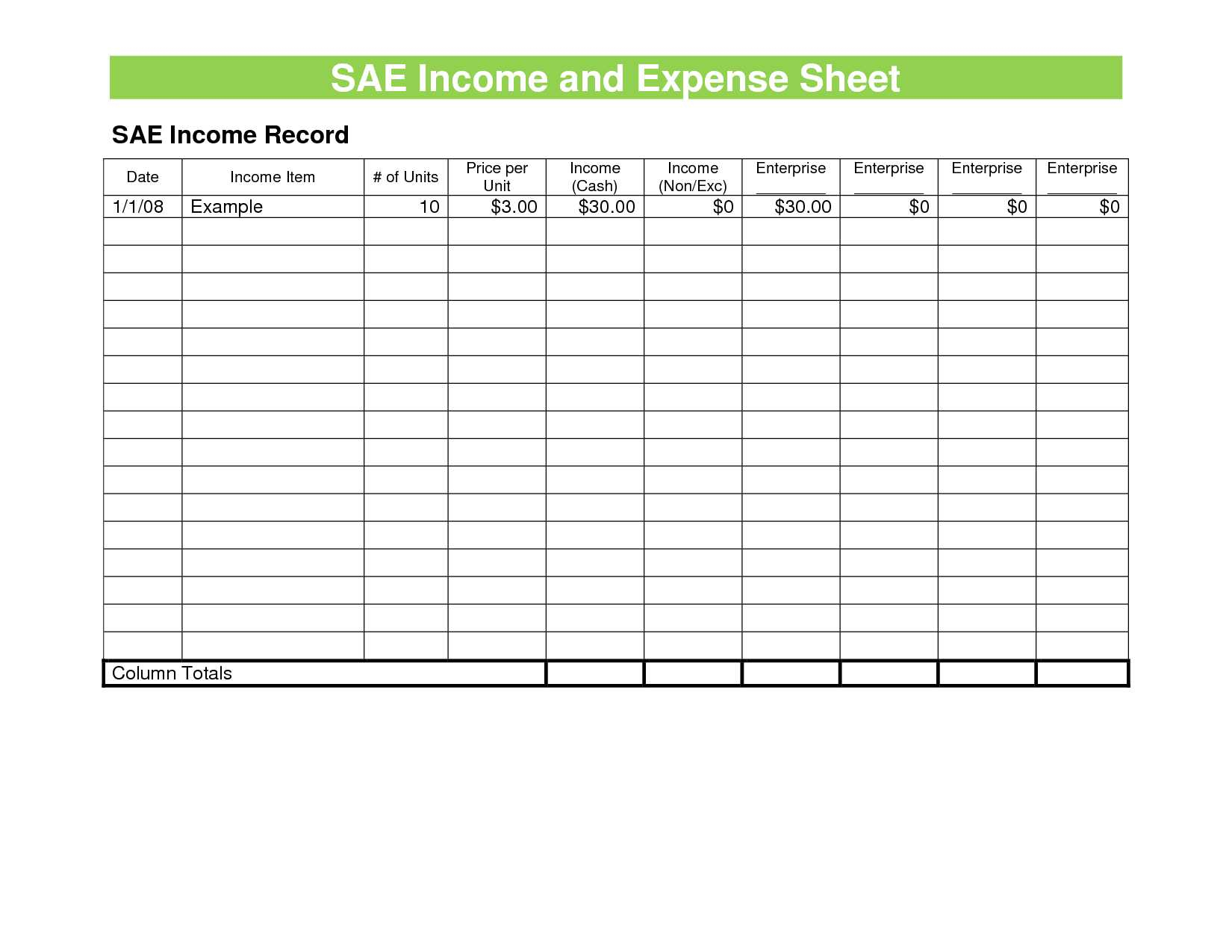 Self Employed Tax Spreadsheet Spreadsheet Downloa Self