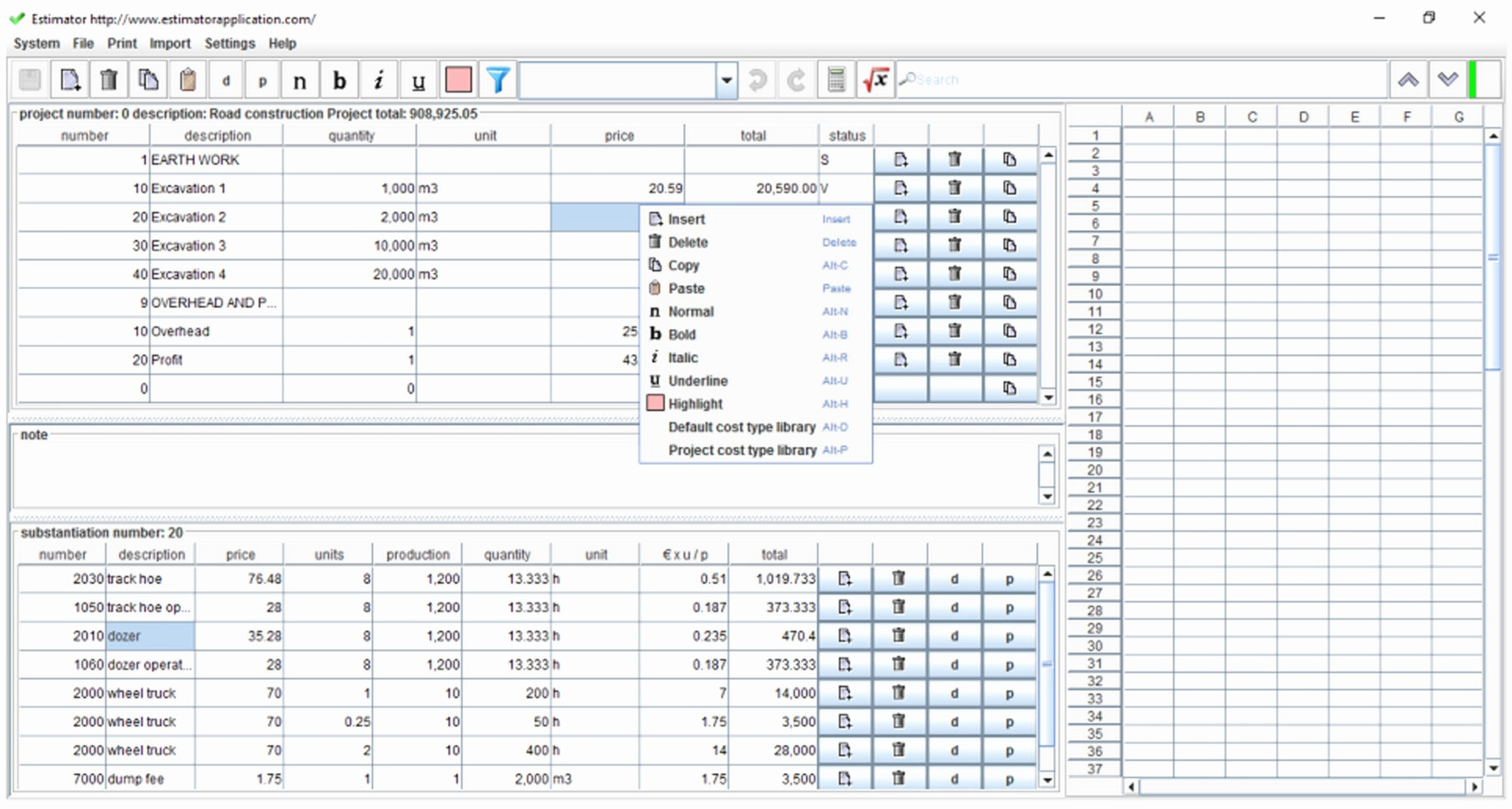 Simple Job Costing Spreadsheet Spreadsheet Downloa Simple