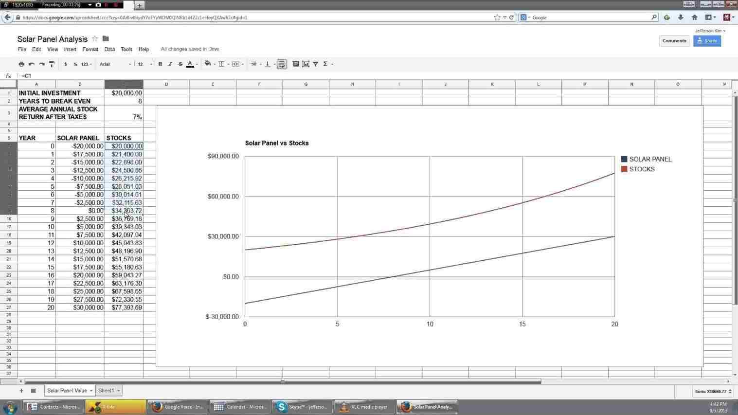 Solar Panel Calculator Spreadsheet Spreadsheet Downloa
