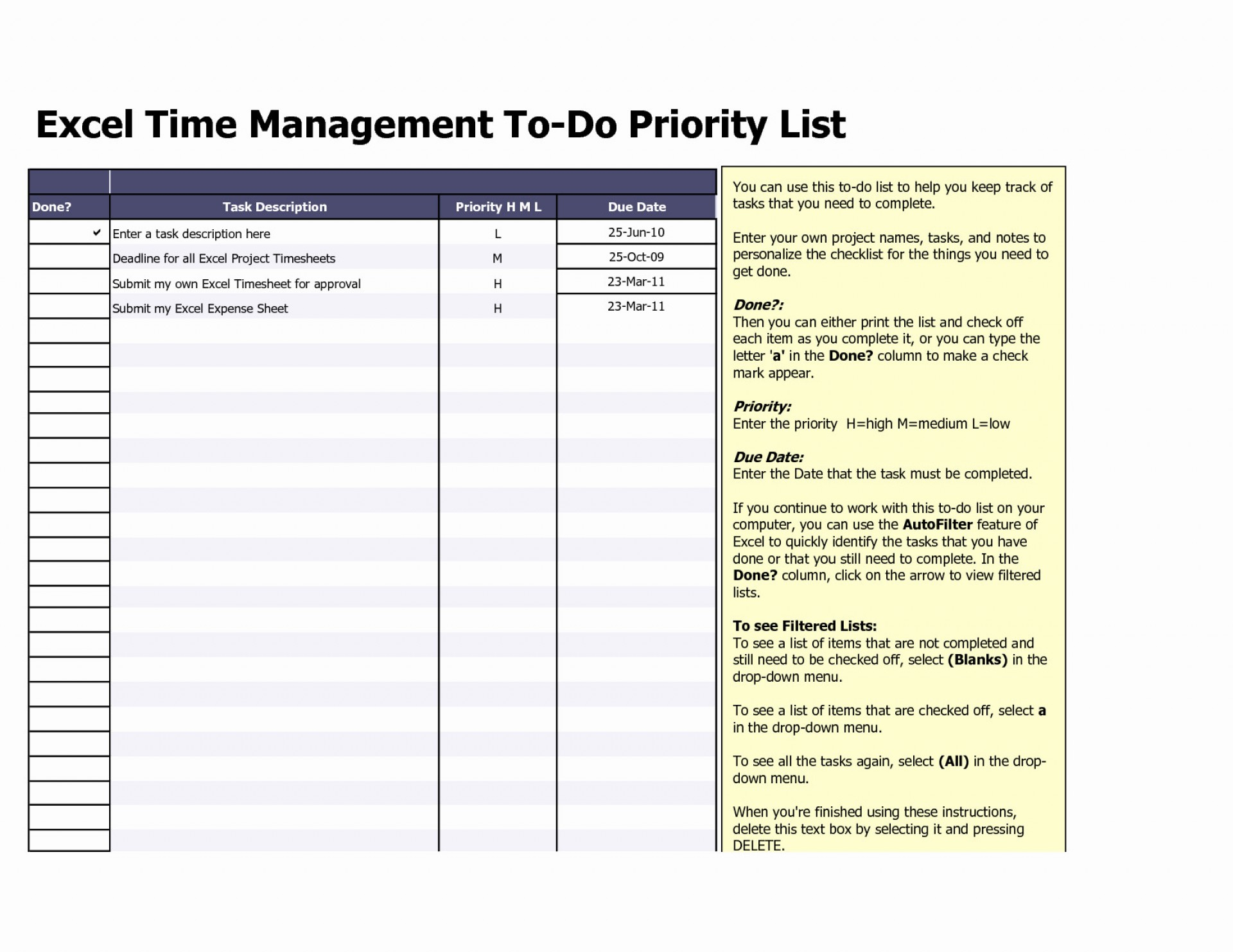 Spreadsheet Tasks Throughout 017 Weekly Todo List Template Task Excel Spreadsheet My Templatesdb