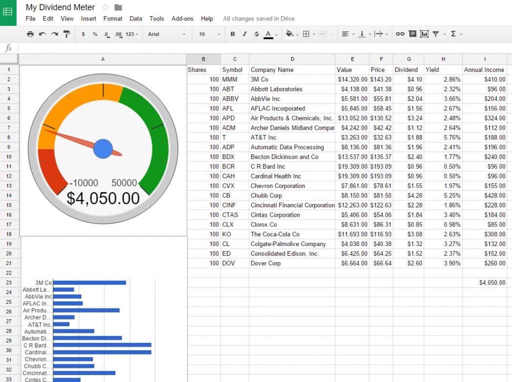 Stock Portfolio Tracking Excel Spreadsheet Spreadsheet