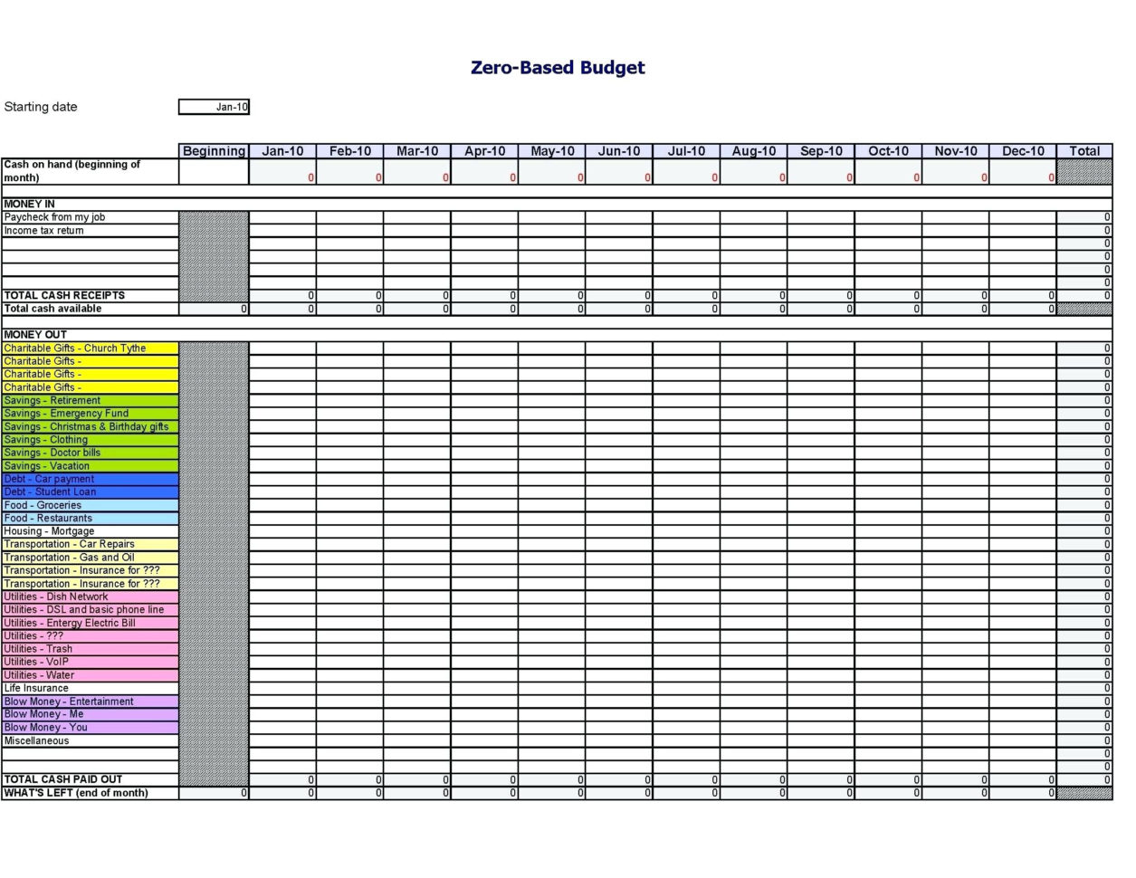 Tax Deduction Spreadsheet Excel For Tax Deduction