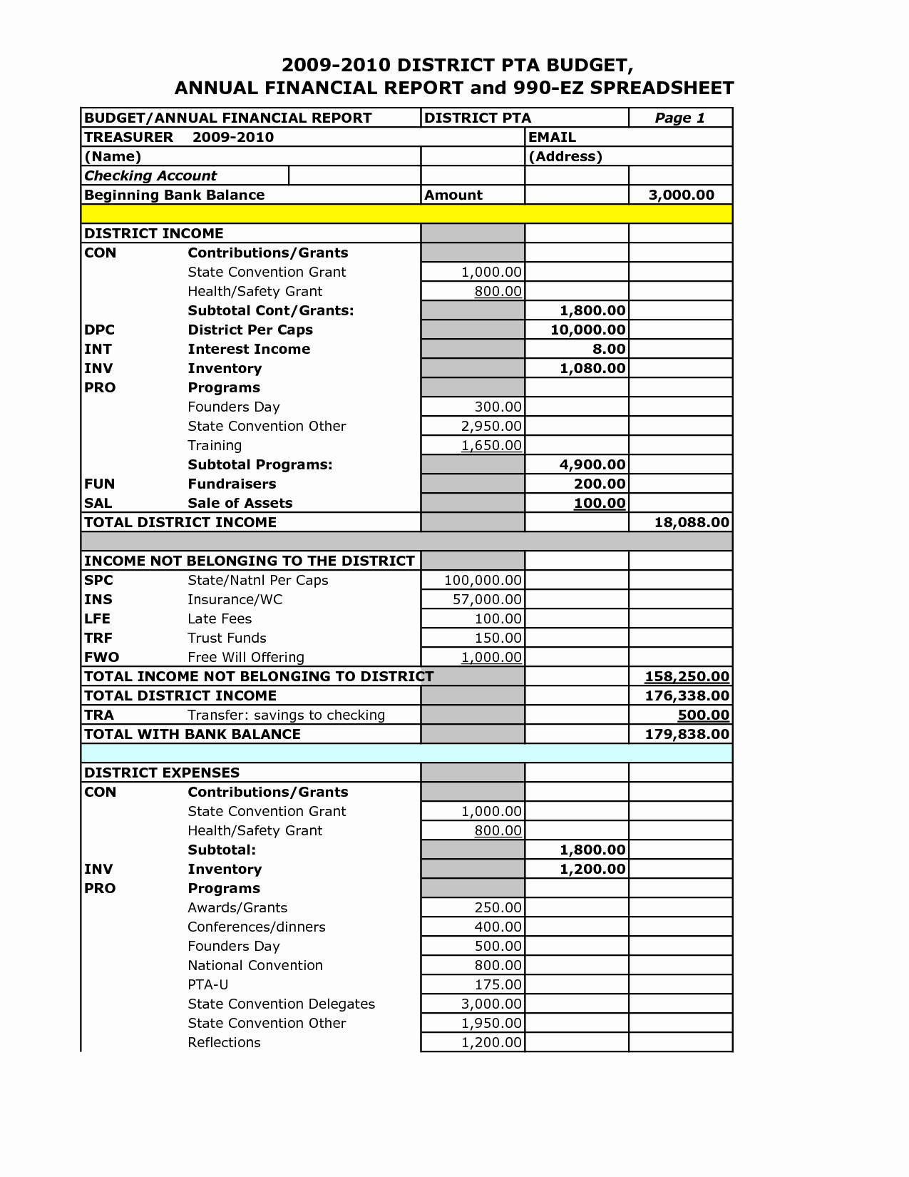 Tax Spreadsheet For Small Business Spreadsheet Downloa Tax