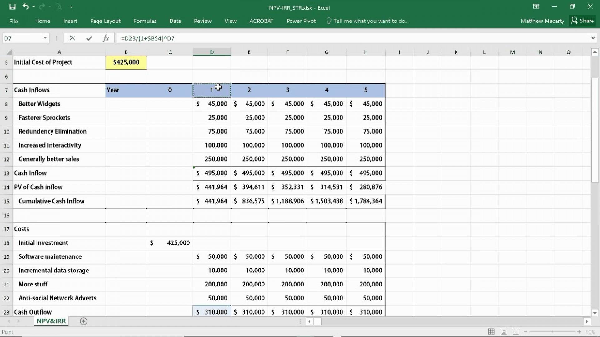 Test Automation Roi Calculation Spreadsheet Spreadsheet