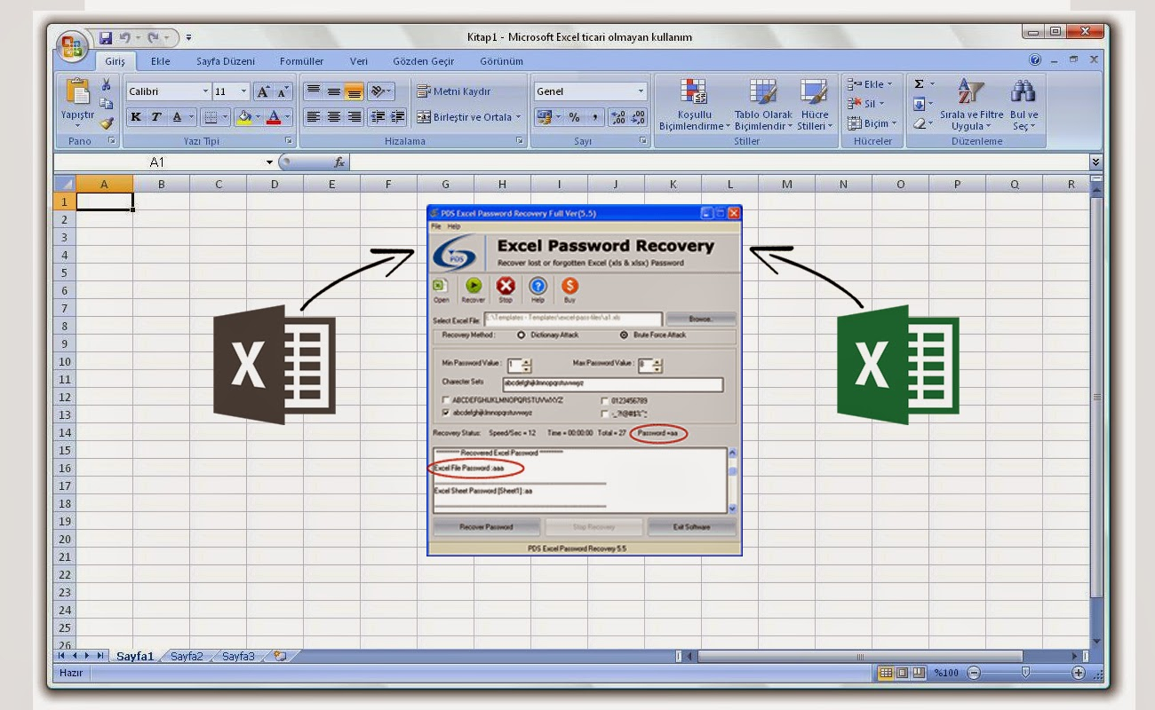 Unlock Excel Spreadsheet Online Regarding Recover Word