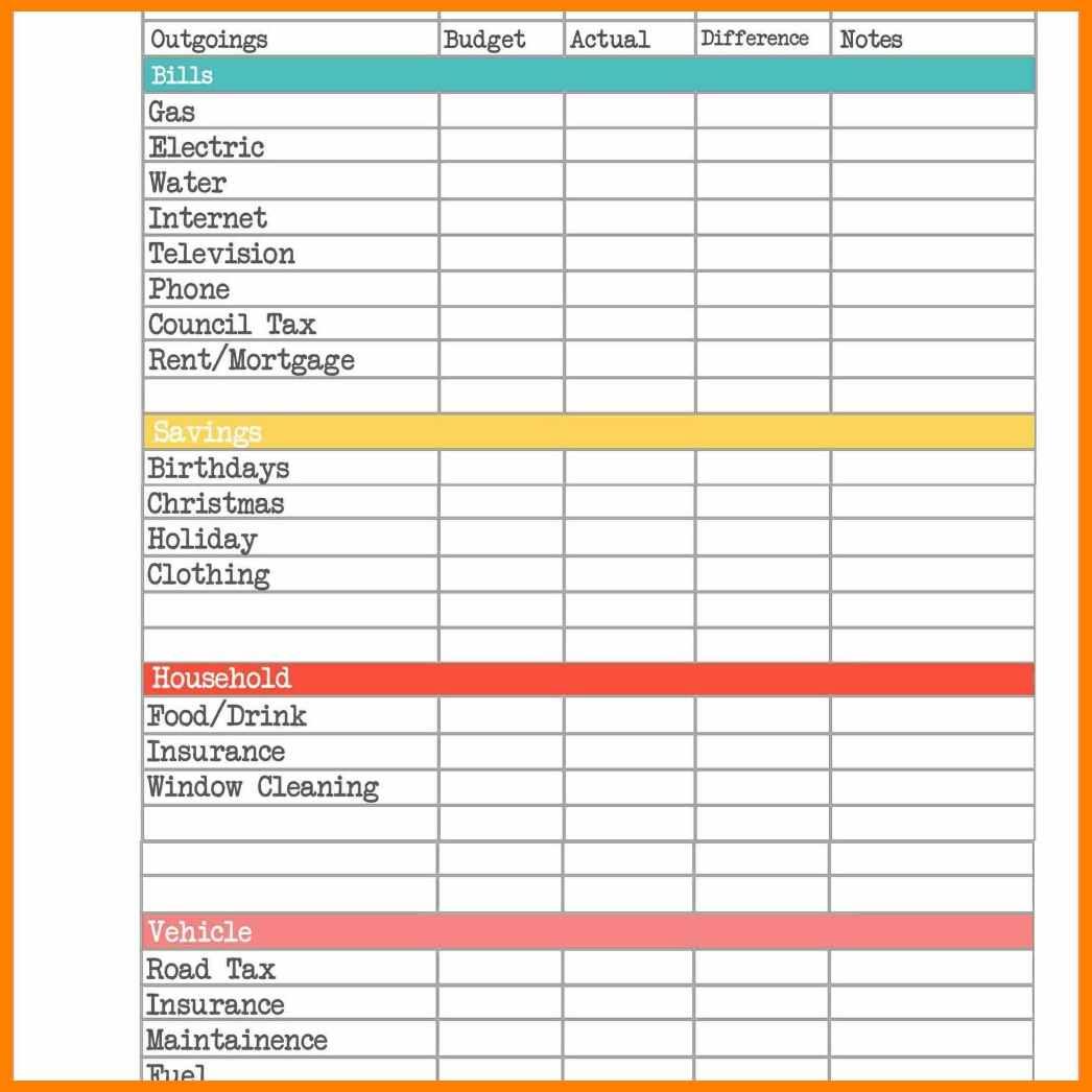 Wedding Budget Planner Spreadsheet In 8 Budget Planner