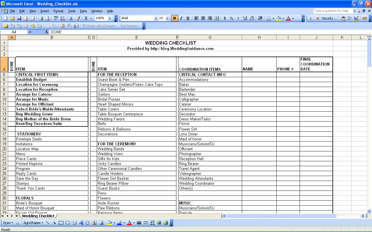 Wedding Expense Spreadsheet Template Regarding Perky Free