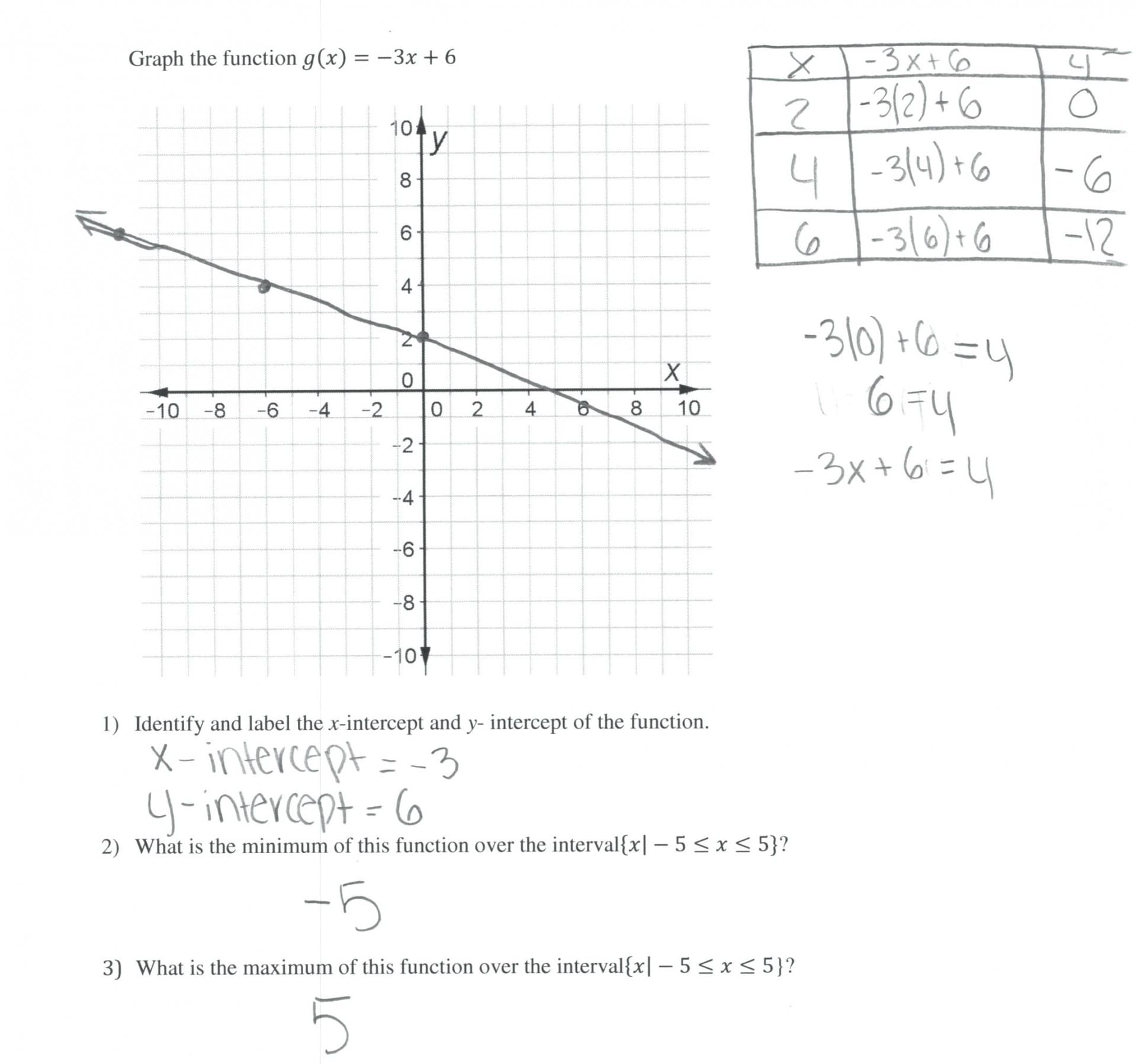 007 Printable Word Free Worksheets On Exponential Function