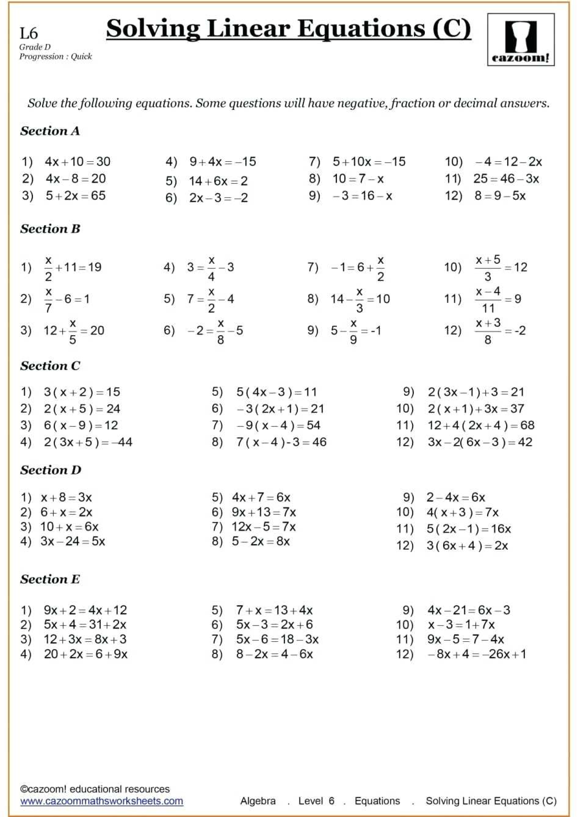 026 Adding And Subtracting Polynomials Coloring Worksheet