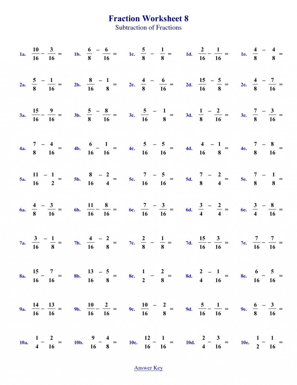 028 7th Grade Math Words Worksheets With Answers Printable