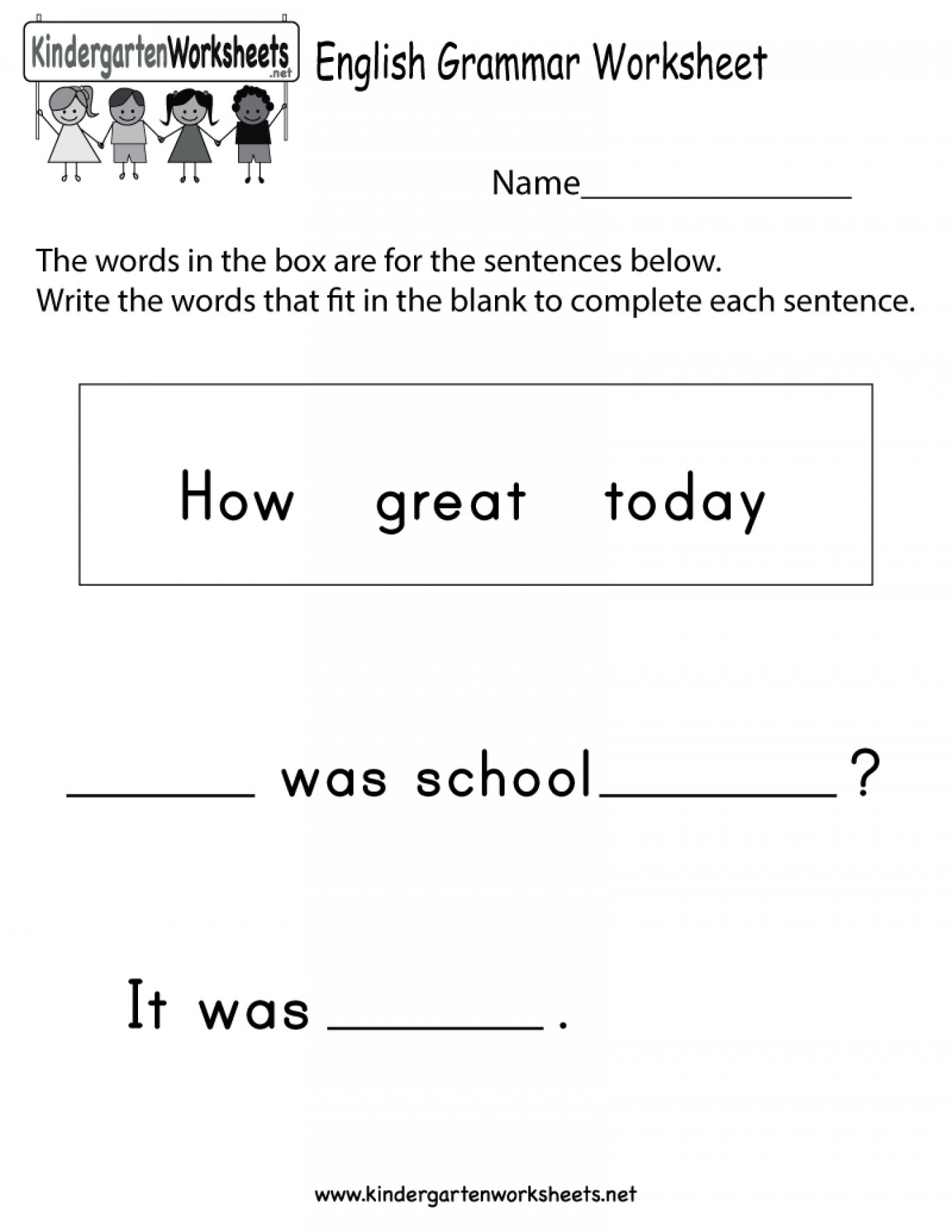 039 Nouns Worksheets For Kindergarten Noun Worksheet Kids