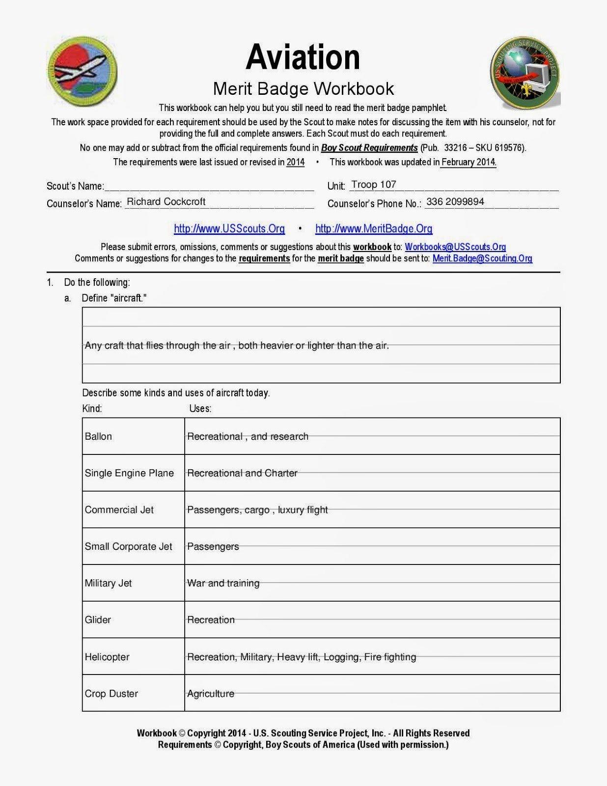 100 Sustainability Merit Badge Worksheet Cooking Cooked
