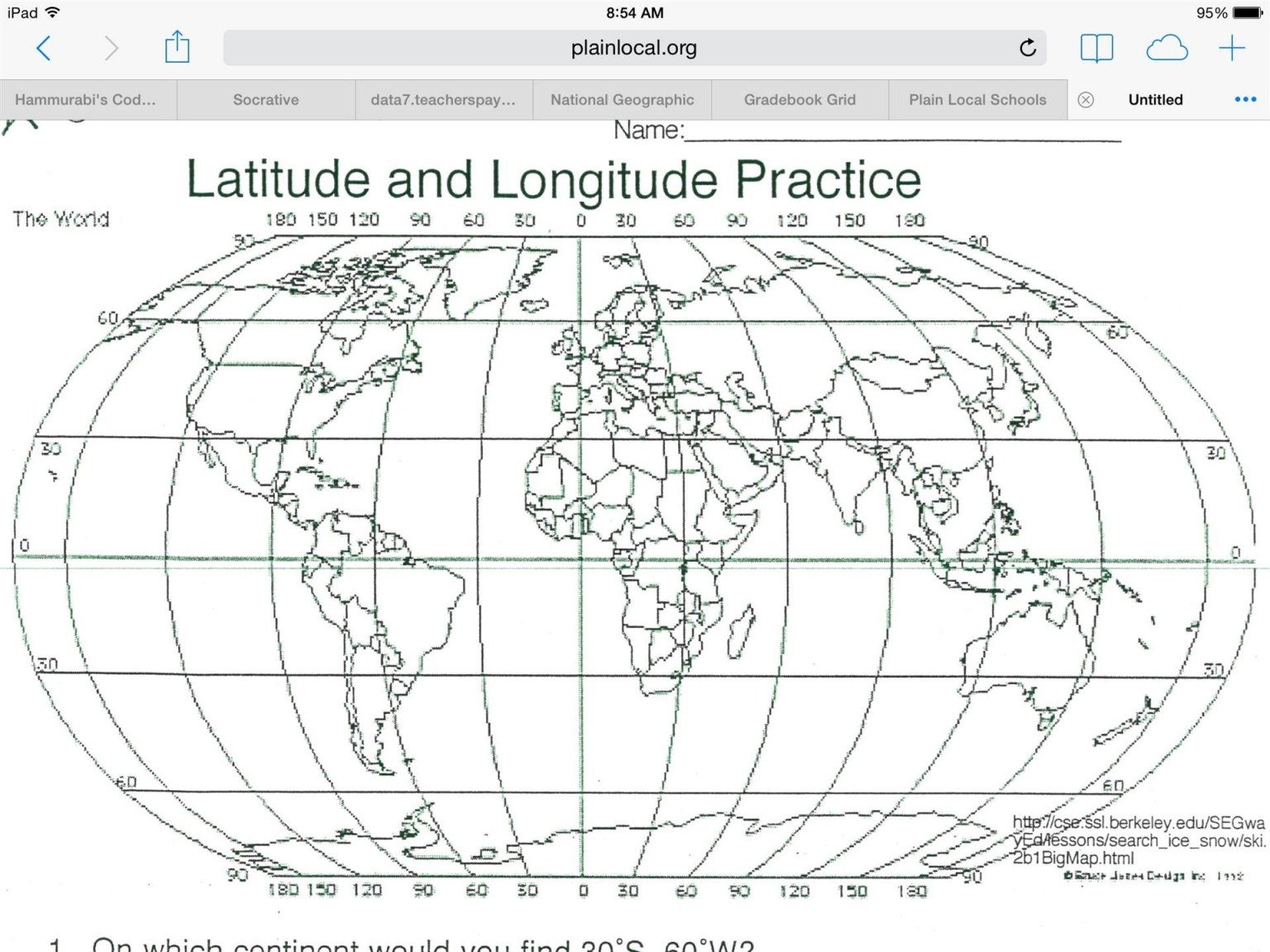 19 Correct World Latitude And Longitude